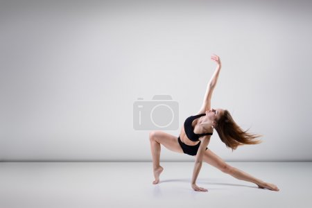 Beautiful   girl dancing