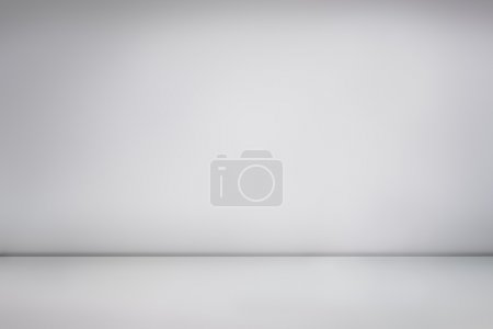 White empty photo studio
