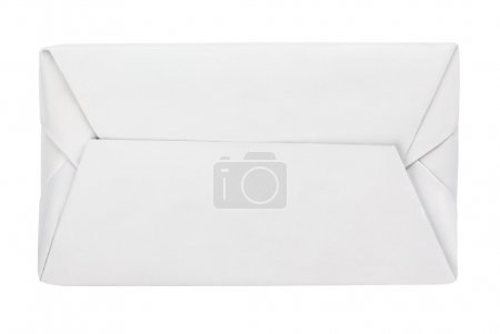 Spread butter wrap box package isolated on white
