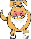 Pes kreslená postavička
