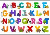 funny alphabet for kindergartens