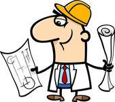 engineer cartoon illustration