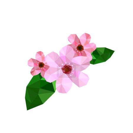Beautiful origami cherry blossom