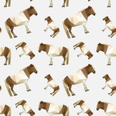 Origami horse  pattern