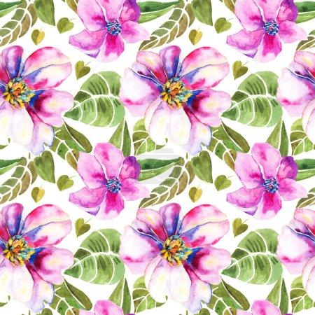 Foto de Patrón floral sin fisuras. textura de flores - Imagen libre de derechos