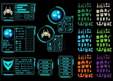 Weltraumspiel