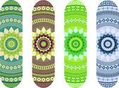 Mandala style skateboard design pack