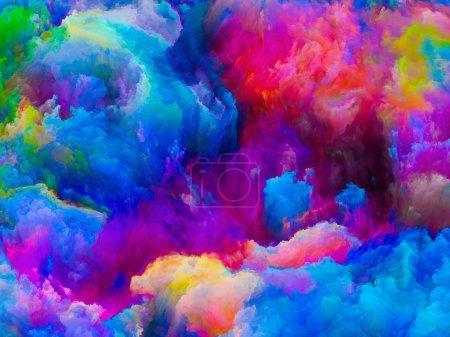 Colors Composition background