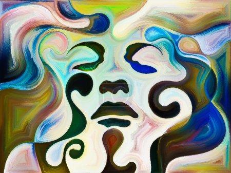 Foto de Composición abstracta sobre el tema de los sueños y las emociones - Imagen libre de derechos