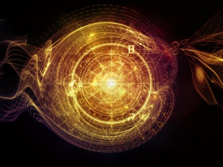 Virtual Life of Sacred Geometry