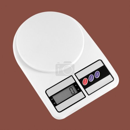 Household appliances - Kitchen scales. Isolated