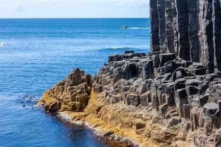 Staffa, an island of the Inner Hebrides in Argyll and Bute, Scotland