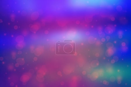 Beautiful dreamy background with bokeh lights