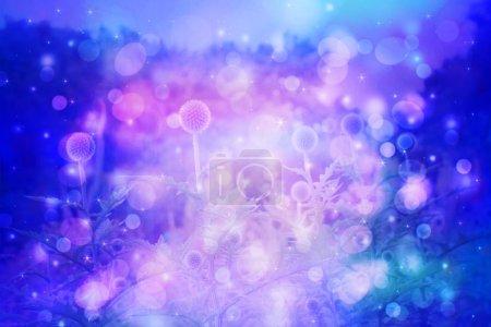 Foto de Fondo hermoso soñador con el Prado de flores - Imagen libre de derechos