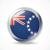 Cook Islands flag button