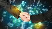 Ekonomika handshake