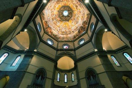 Dome of the Basilica of Santa Maria del Fiore in Florence