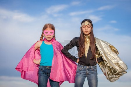 Photo for Girl power, super heroes or superheroes - Royalty Free Image