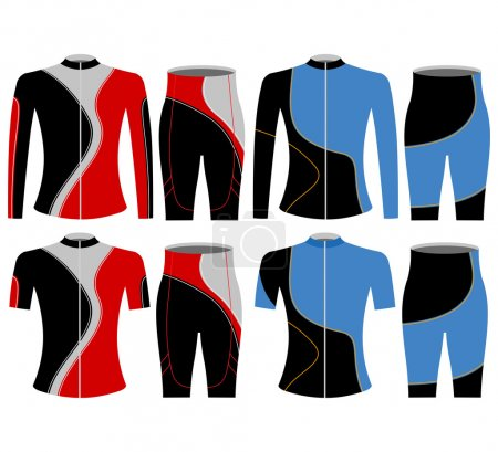 T-shirt sports bike
