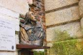 Bronze bust of William Shakespeare in Verona, Italy