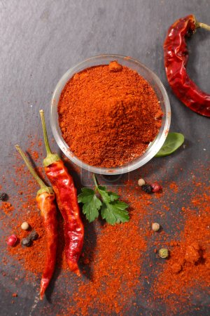 hot pepper, paprika