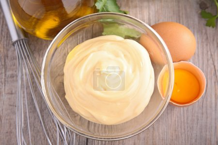 fresh homemade mayonnaise