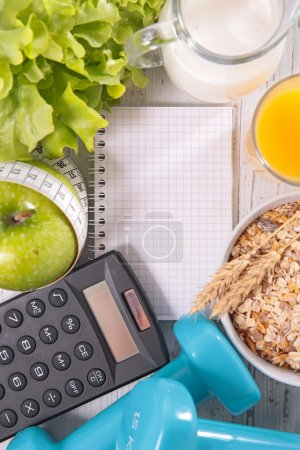 healthy eating and dieting concept