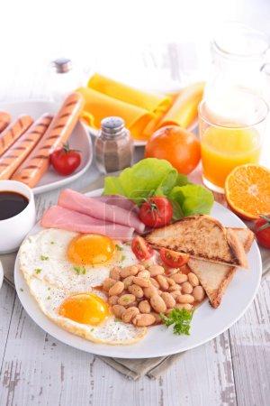 Healthy morning  breakfast