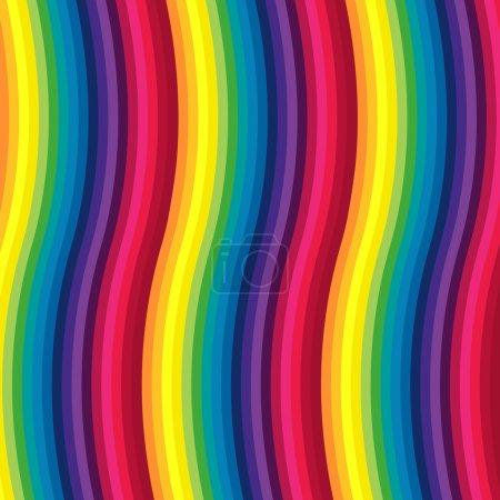 Illustration pour Arc-en-ciel abstrait. Illustration vectorielle pour le design - image libre de droit