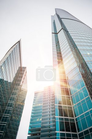 Photo for Modern skyscrapers of the business center. Moscow city. Russia - Royalty Free Image