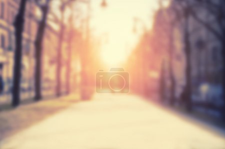 Photo for Blurred city background, vintage effect - Royalty Free Image