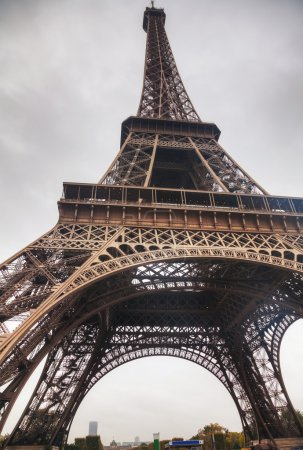 Photo for Eiffel tower in Paris, France in the morning - Royalty Free Image
