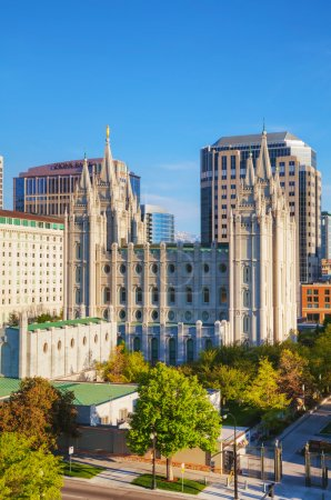 Mormons Temple in Salt Lake City