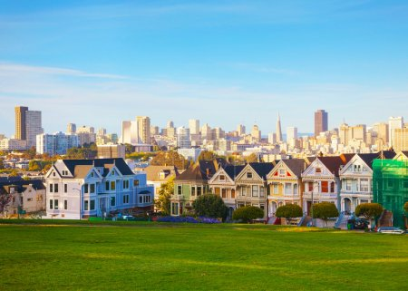 Beautiful San Francisco cityscape