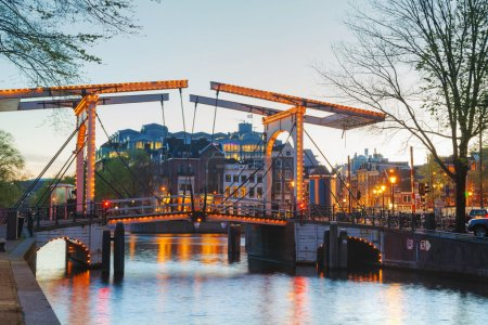 view of Amsterdam city