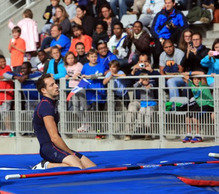 Lavillenie Renaud on DecaNation International Outdoor Games