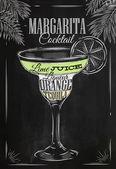 Křída koktejl Margarita