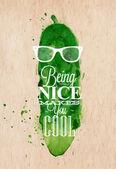 Poster Mr Cucumber
