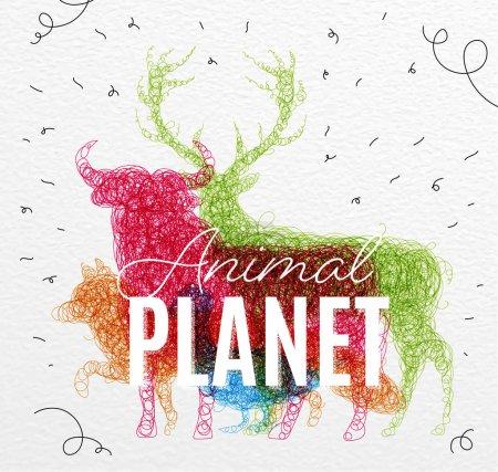 Poster animal planet tangled