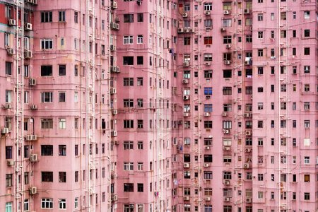 Apartment Building in Hong Kong.