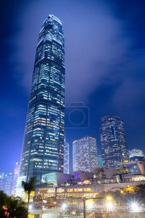 Photo pour Immeubles de bureaux modernes à central hong kong. - image libre de droit