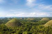 Chocolate Hills in Bohol Island, Philippines.