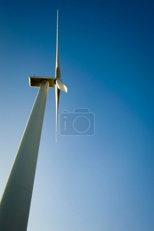 Windmill for electric power production.