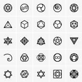Posvátné geometrie ikony