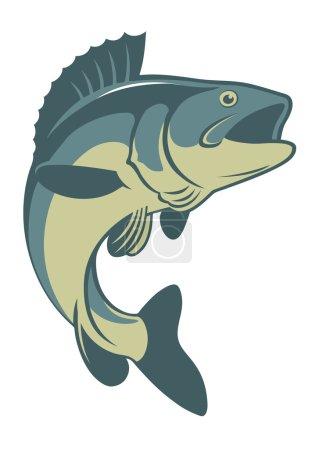 fish bass silhouette