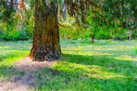Photo for Beautiful Red Cedar Tree in Yosemite - Royalty Free Image