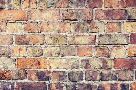 Grunge urban background of a brick wall