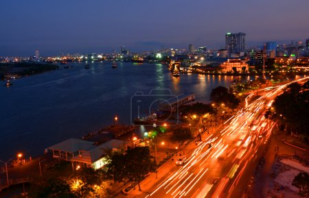 The Evening Rush-Hour in Saigon