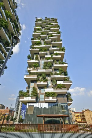 Vertical Forest apartment building in the Porta Nuova area of Mi