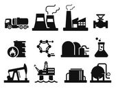 Gas and Oil icons set 02